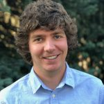 Sam Brewer, new faculty member in Physics.